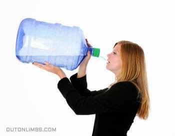 exercise drink water too much not healthy for you