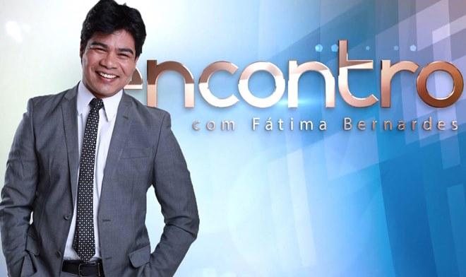 Samuel Mariano no Encontro com Fátima Bernardes