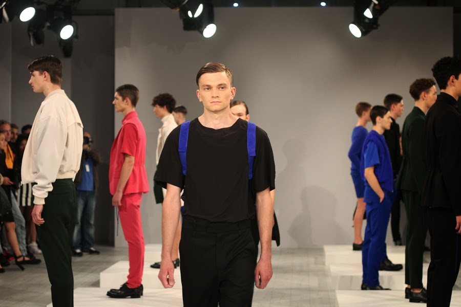 ivan man mercedes benz fashion week lauf