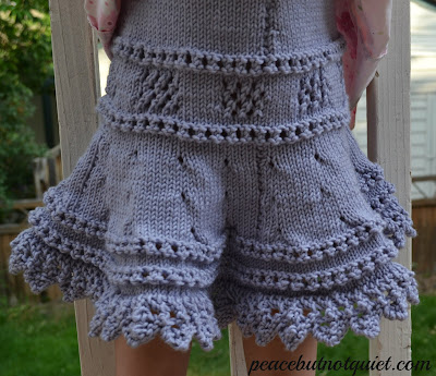 A Knitted Skirt Pattern