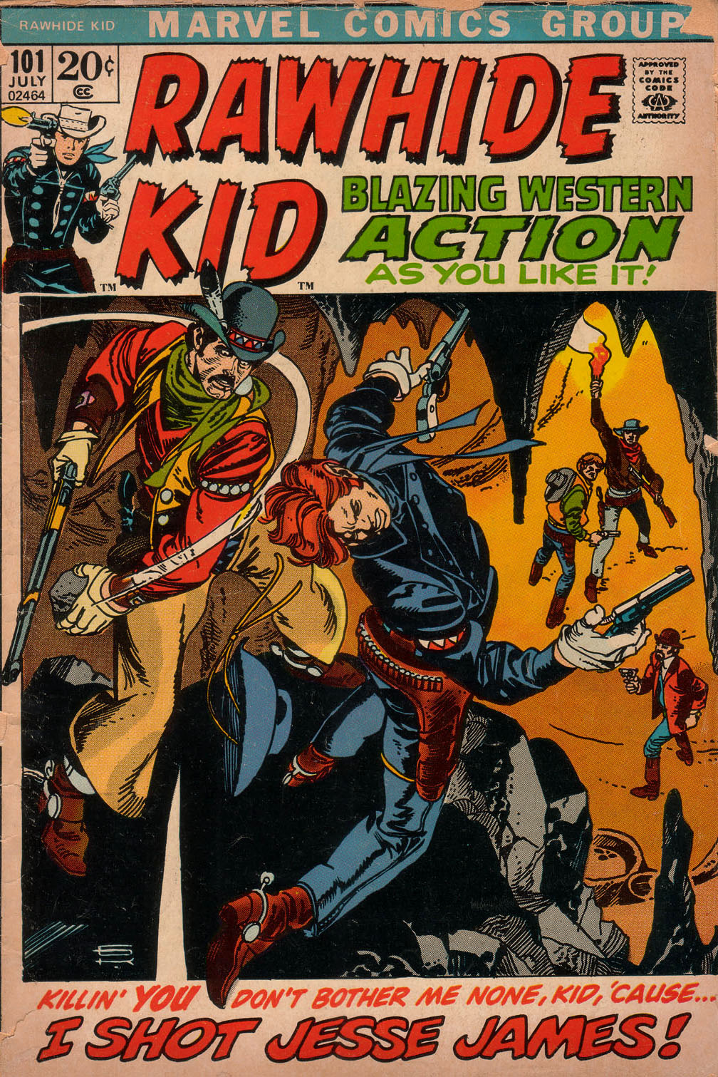 The Rawhide Kid (1955) issue 101 - Page 1