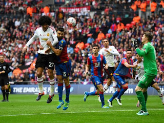 25th FA Cup final :Manchester United hero by defeat Crystal Palace 2 goals to 1