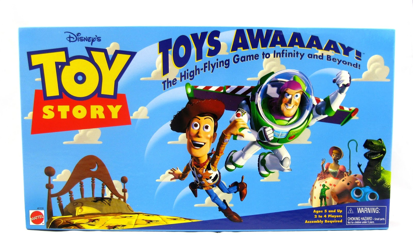 Toy Story Toys : Dan the pixar fan toy story quot toys awaaaay board game