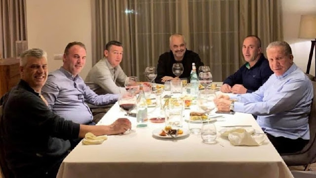 Haradinaj reveals backstage at dinner at Thaci house: Was Edi Rama's initiative