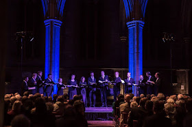 Vox Luminis at the Brighton Festival - photo Victor Frankowski