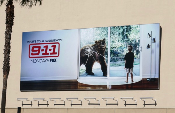 911 season 2 bear billboard