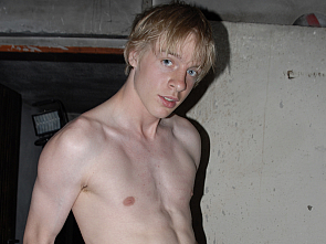 EastBoys - Cute Blond Twink - Jerking off at Work
