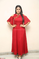 Poorna in Maroon Dress at Rakshasi movie Press meet Cute Pics ~  Exclusive 190.JPG