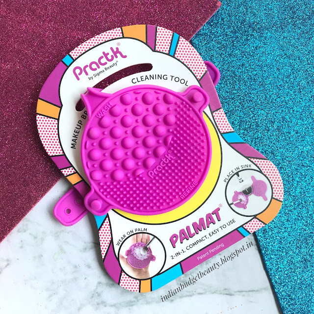 Palmat by Practk | Affordable Makeup Brush Cleaning Tool | Review