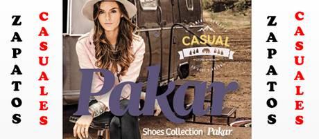 Catálogo Zapatos Casual Pakar Otoño Invierno 2017