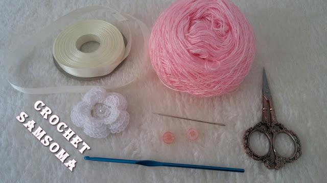 كروشيه فستان اطفال باسهل طريقة للمبتدئات (طقم كروشيه بناتي) Crochet Easy Dress