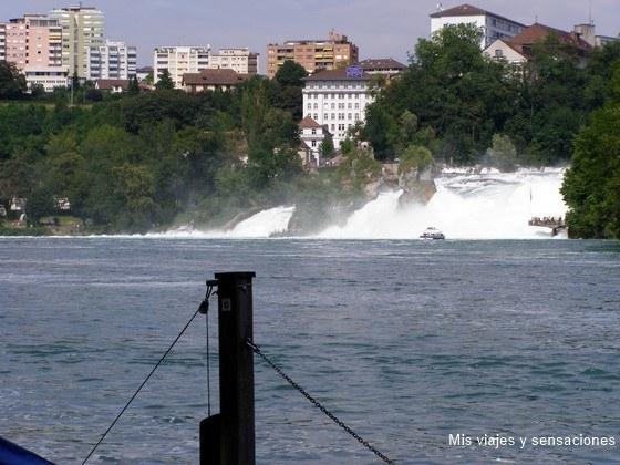 Cataratas del Rhin, Zurich, Francia