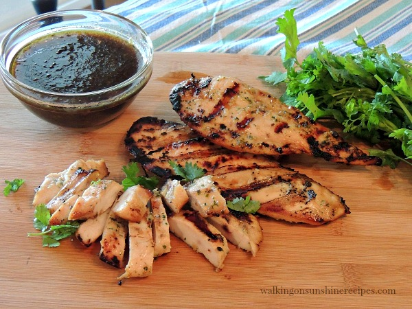 Grilled Chicken Marinade from Walking on Sunshine