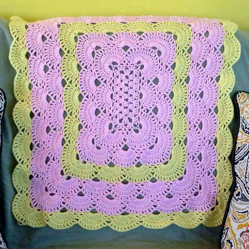 Rectangle Virus Blanket - Tutorial