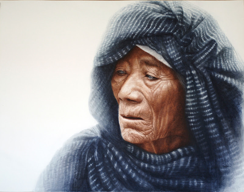 Figurative, Realistic Paintings by Patricia Guzman.