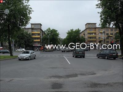 Улица Чкалова. Ворота в город Минск