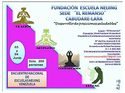 Encuentro Nacional Escuelas Nei-Jing Venezuela