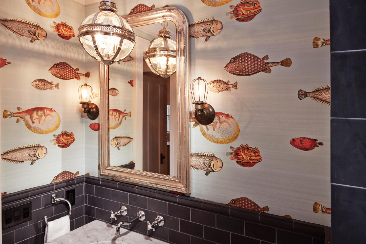 Acquario Fornasetti Wallpaper From Cole Son By Ann Lowengart Interiors