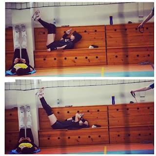 Foto Sabina Altynbekova lagi tidur