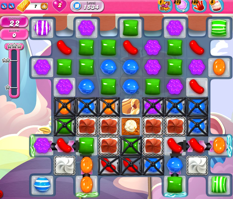 Candy Crush Saga 134