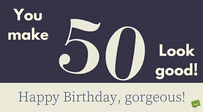 Funny 50th Birthday Wishes, Messages and Happy 50th Birthday Images