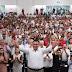 Rolando Zapata y los priistas celebran el cuarto aniversario de su triunfo electoral