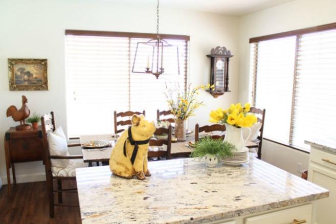 A Stroll Thru Life: Easy Easter Kitchen Decor