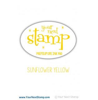 Premium Dye Ink Pad Sunflower Yellow