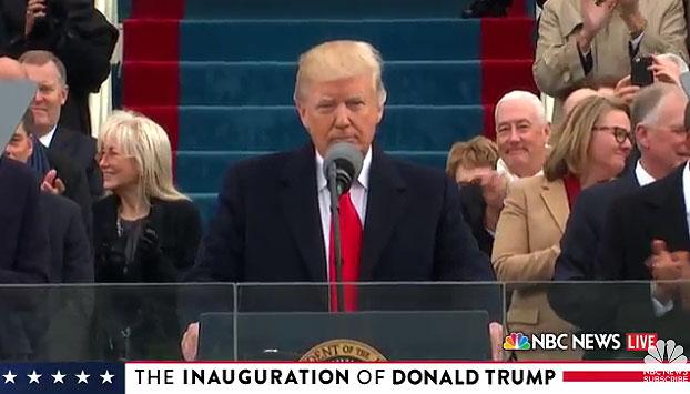 Donald Trump, discurso toma de posesión de Donald Trump