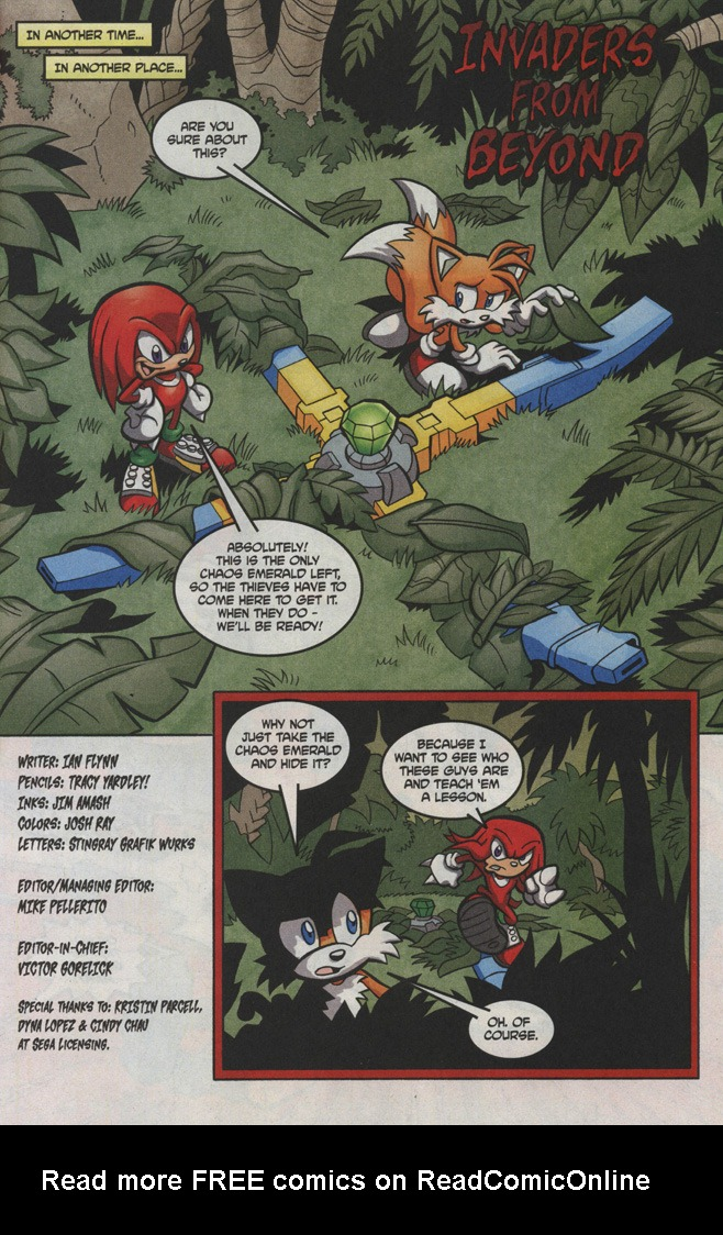 Read online Sonic The Hedgehog comic -  Issue #191 - 21