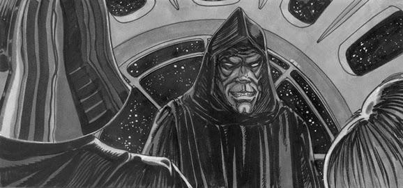emperor story board star wars