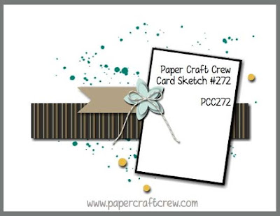 Paper Craft Crew Sketch Challenge #272 Card Inspiration using Stampin' Up! Products order from Mitosu Crafts UK Online Shop
