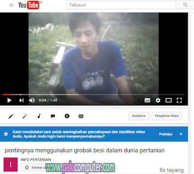 video youtube kabur