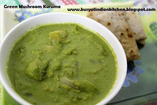 green mushroom kuruma