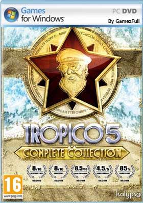 Descargar Tropico 5 pc full español mega y google drive con todos los dlc 2018.