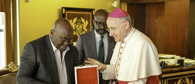 Pope Francis to send envoy to Ghana@60