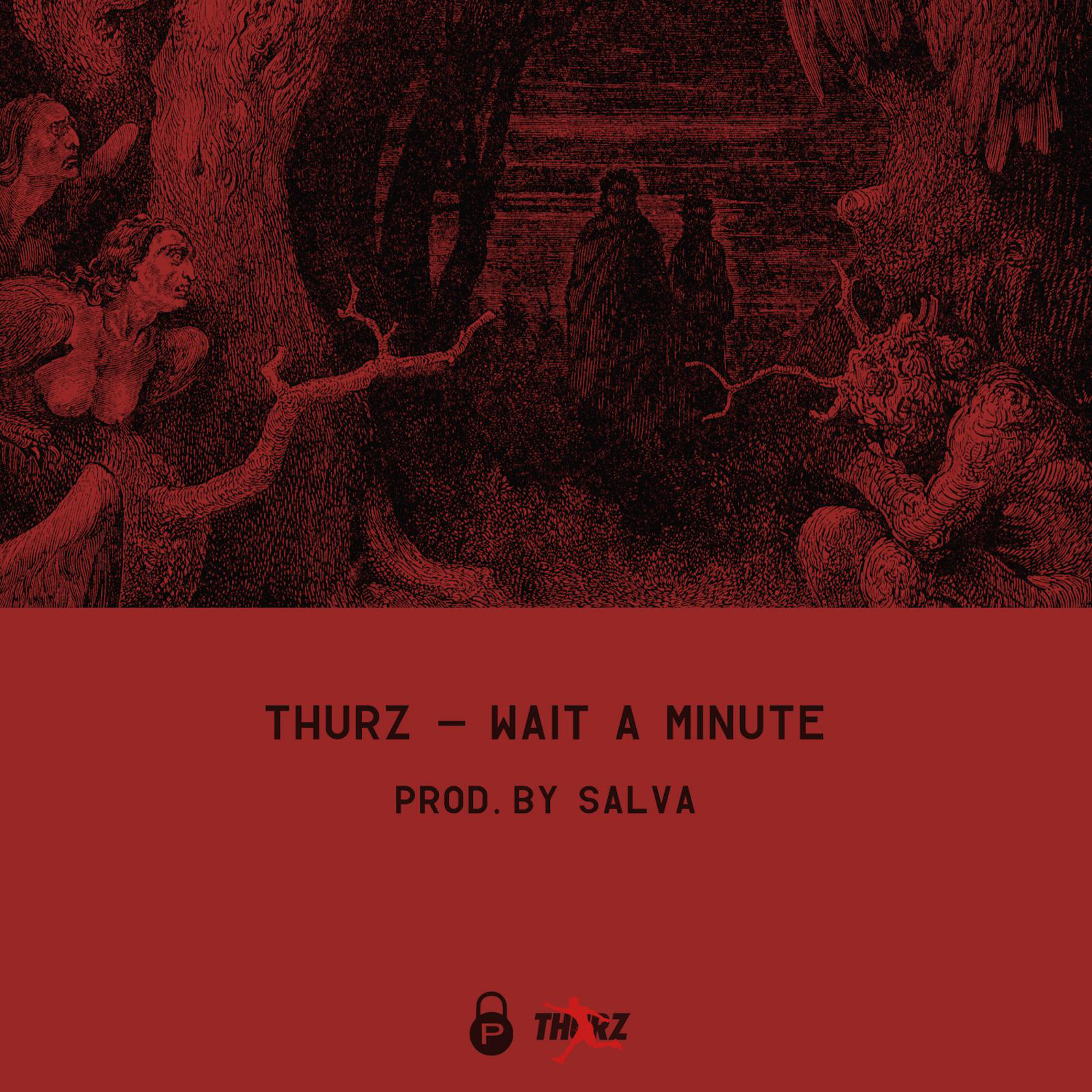Thurz - Wait a Minute - Single Cover