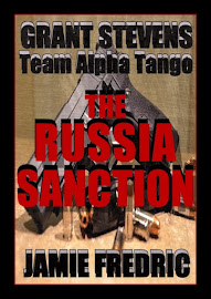 COMING SOON:  THE RUSSIA SANCTION - #16 IN GRANT STEVENS SERIES