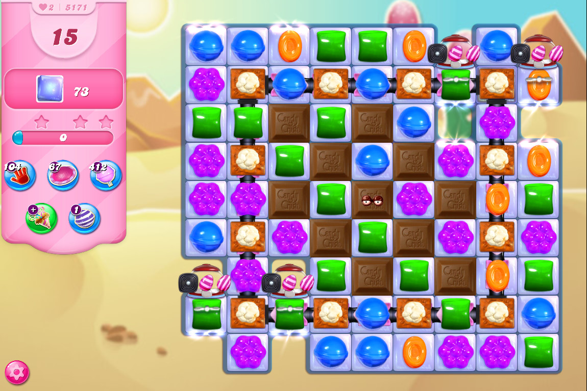 Candy Crush Saga level 5171