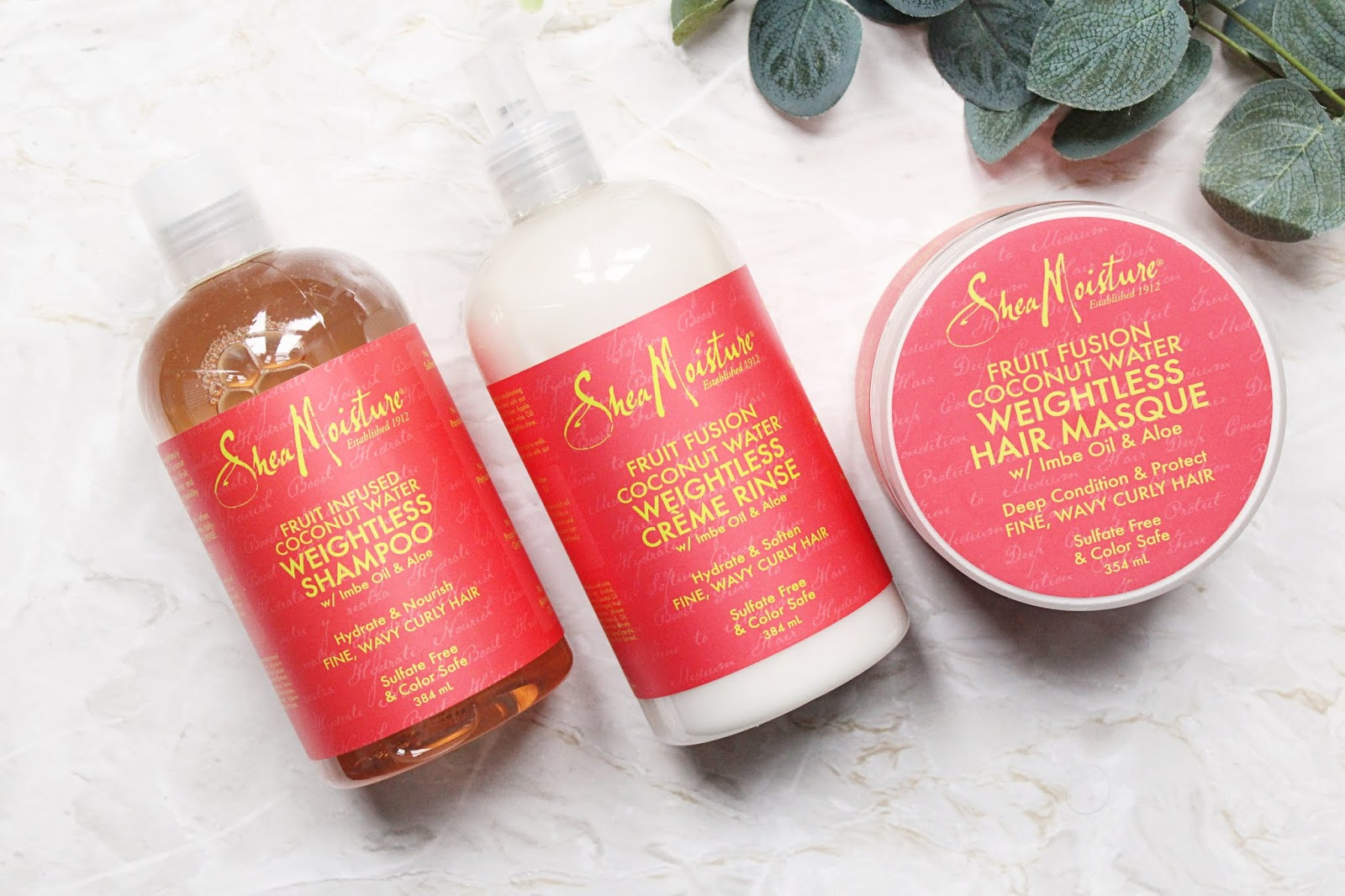 Shea Moisture Fruit Fusion Hair Care
