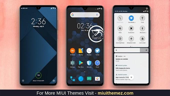 ViperOs MIUI 10 Theme Download | Xiaomi Mi Themes