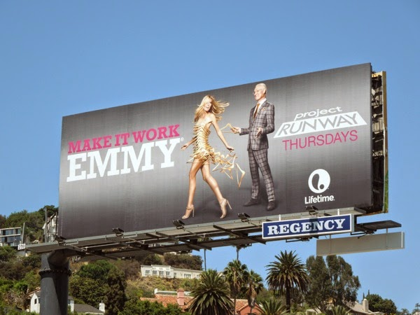 Project Runway season 13 Make It Work Emmy billboard