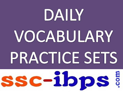 DAILY VOCABULARY PRACTICE SET - 10