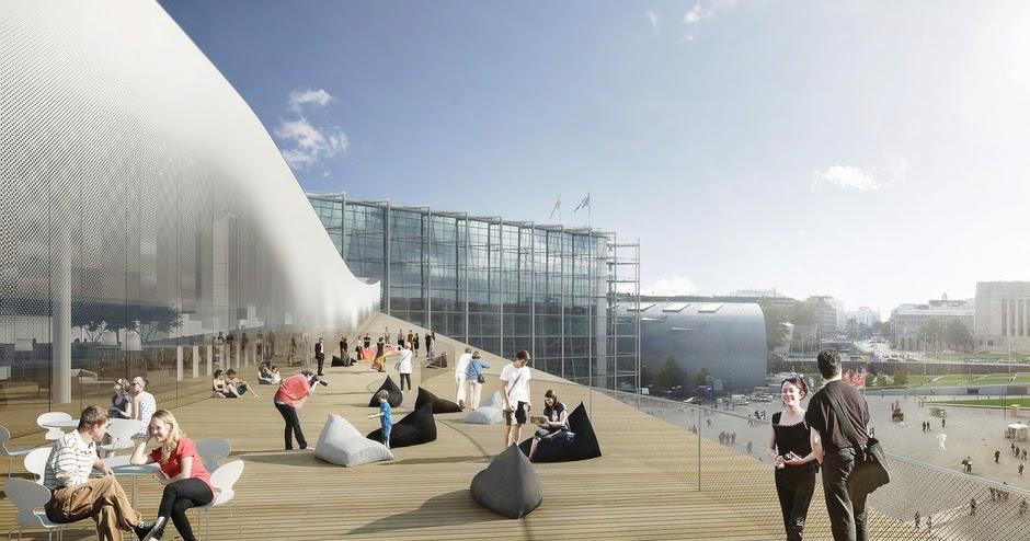 La biblioteca del futuro se llama Oodi