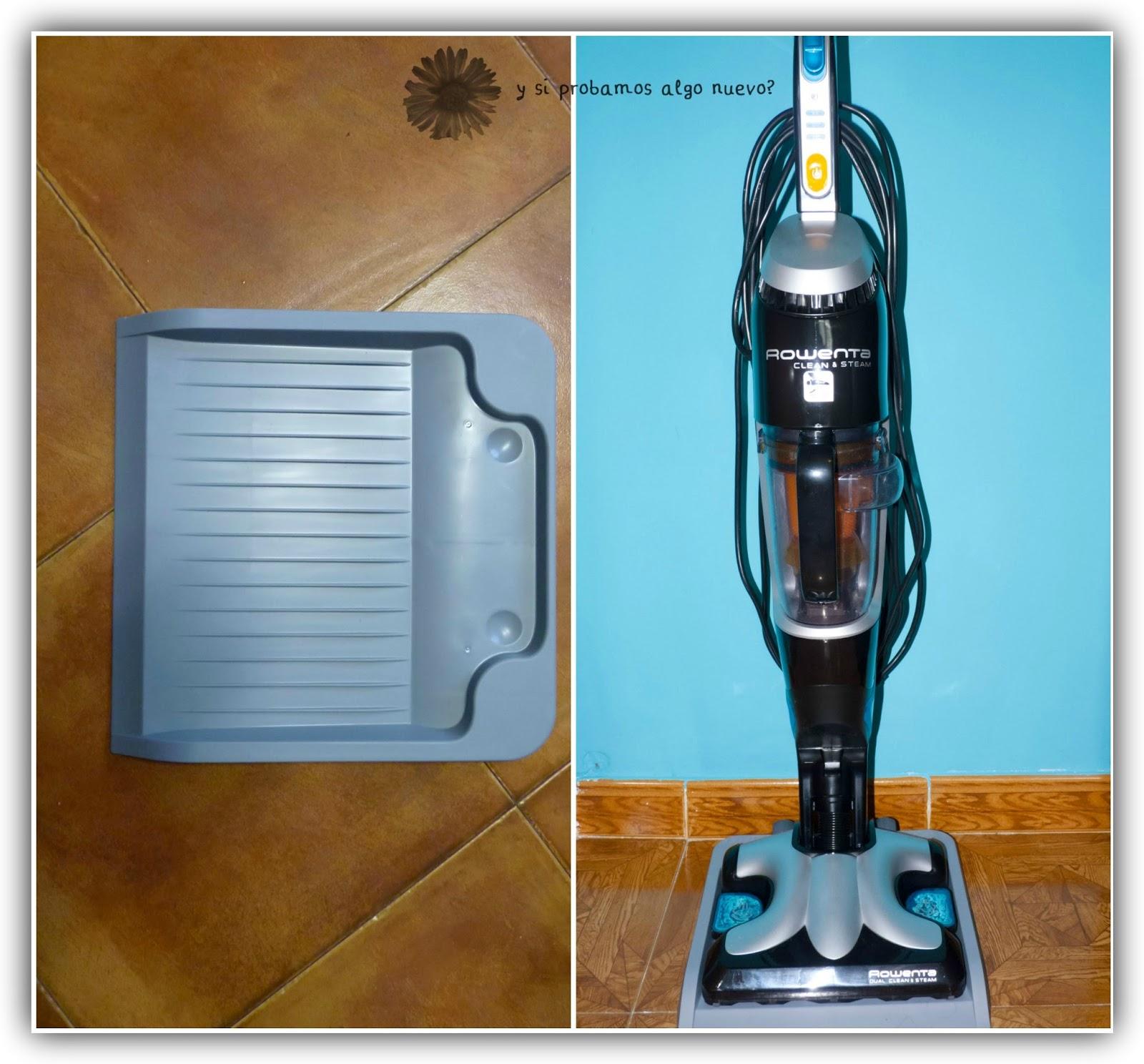 Escoba Mopa Clean & Steam De Rowenta Con Testamus