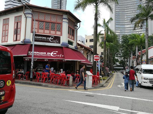 Makanan halal di Singapura Kampong Glam