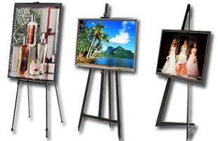 Sandaran Tripod Untuk Pigura Foto dan Lukisan