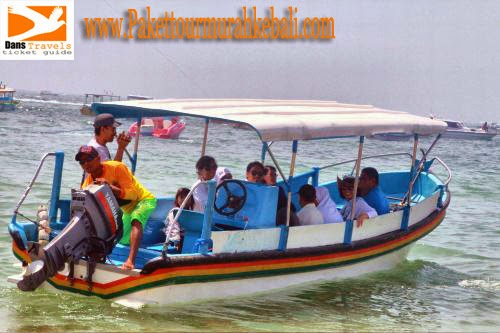 Glass Bottom Boat Tanjung Benoa