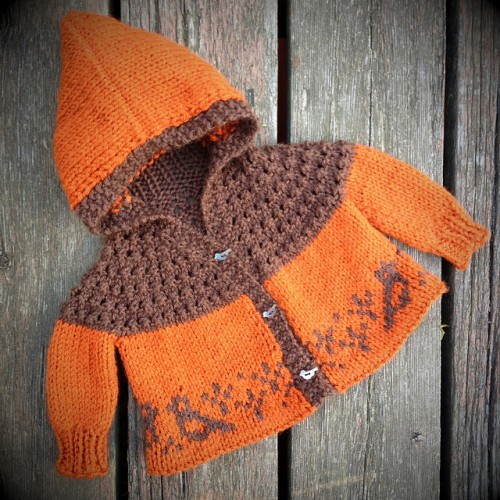 One Skein Baby Sweater - Free Pattern