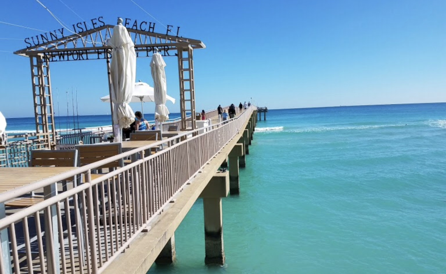 Sparkle and slippers what to do in miami for Miami fishing piers
